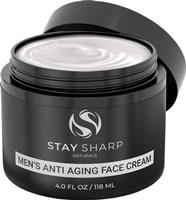Stay Sharp Naturals Men's Anti Aging Face Cream