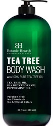 Botanic Hearth Tea Tree Body Wash for blemishes on face, back, buttocks