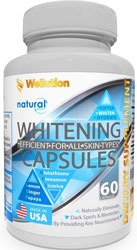 Wellution Whitening Capsules for Acne Scars on Butt, back, body