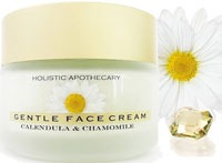 HOLISTIC APOTHECARY ORGANIC Calming CHAMOMILE FACE Cream For Dry Sensitive Skin Healing