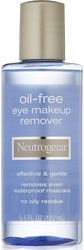 Neutrogena Gentle Oil Free Eye Makeup Remover for Greasy Skin and Acne