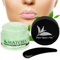 Once-Upon-A-Tea-Exfoliating-Green-Tea-Matcha-Sugar-Lip-Scrub-for-Plump-Younger-Lips