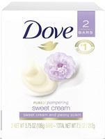 Dove purely pampering sweet cream soap