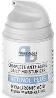 Pure Biology Retinol and Hyaluronic Acid Moisturizer