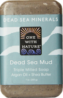 One With Nature Dead Sea Mud Triple Milled Soap